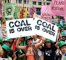 Coal is Over!  by Rae Breaux