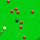 Snooker Match by Nigel Silcock