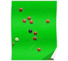 Snooker Match Poster