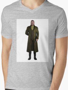 Regency Gentleman Mens V-Neck T-Shirt