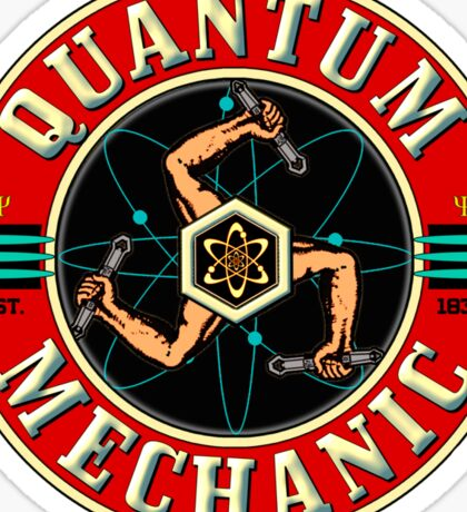 QUANTUM MECHANIC Sticker