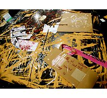 Paint it Loud and Clear  Photographic Print