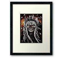 THE RAPE OF A NATION ! Framed Print