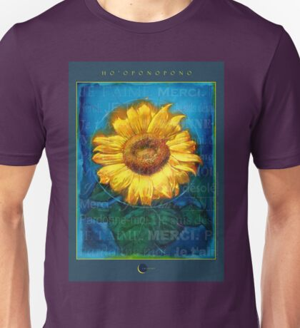 Ho'oponopono Tournesol Poster Unisex T-Shirt