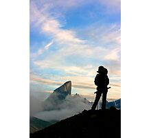 Taking it in - Auyuittuq National Park Photographic Print