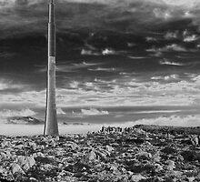 Mt Wellington Rocket by Ian Colley