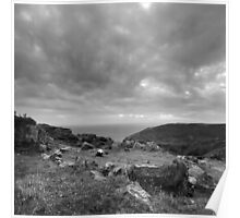 Ancient Burial Site - photograph Poster