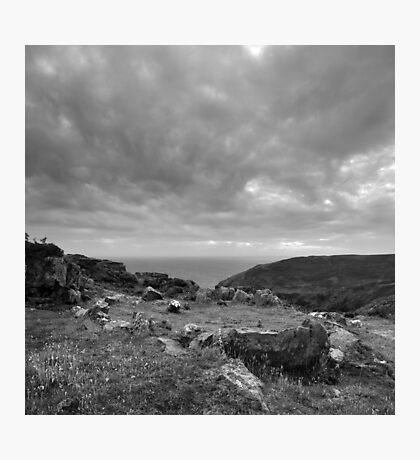 Ancient Burial Site - photograph Photographic Print