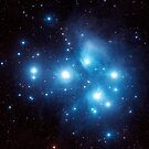 Pleiades Star Cluster by StocktrekImages