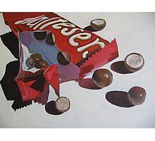 Chocolate Tease Photographic Print