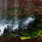 Waterfall Detail: Indian Falls by Skye Hohmann