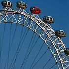 London Eye by Skye Hohmann