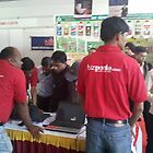 Busy bizporto team at Global Maharashtra Conference and Trade Fair by bizporto