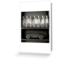shelf life Greeting Card
