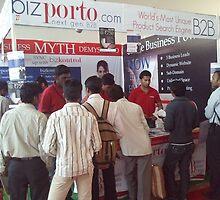 bizporto at Global Maharashtra Conference and Trade Fair by bizporto