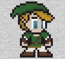 8-Bit Link Kids Clothes