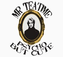 Mr Teatime Portrait by Rachel Miller
