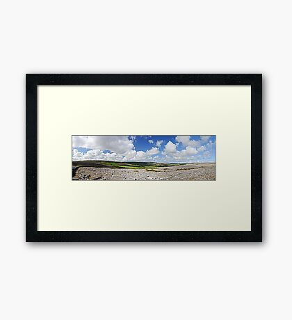 The Burren Framed Print