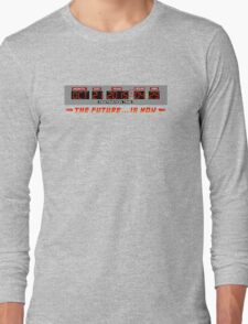 Back to the Future 2 - The Future is Now - Time Circuits 2015 Long Sleeve T-Shirt