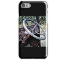 Bannack Ghost Town - Turn The Wheel iPhone Case/Skin