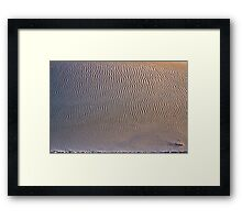 White Sands XI Framed Print