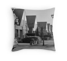 Urban: Sleepy morning with Sakura scent Throw Pillow