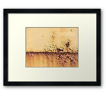 A Barren Land Framed Print