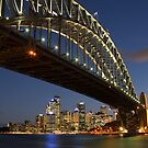 The Harbour Bridge and South Sydney Cityscape by Andi Surjanto