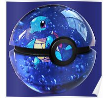 Squirtle | Pokeball Poster