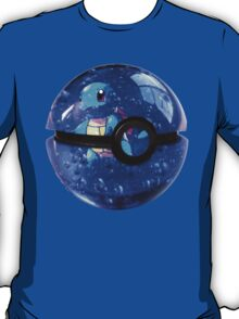Squirtle | Pokeball T-Shirt
