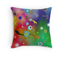 Ummagumma Pink Floyd.. Throw Pillow