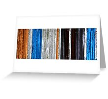coloured glass 2 Greeting Card