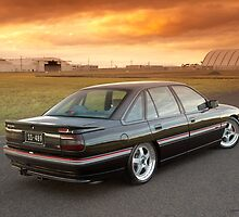 Black Holden VN SS Commodore by John Jovic