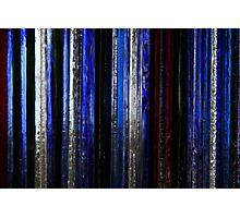 coloured glass 3 Photographic Print