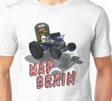 Wierd Wheels Mad Brain Unisex T-Shirt