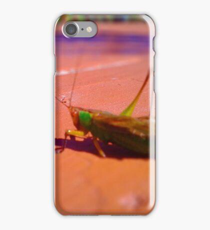 Grasshopper Looks Like a Jewel iPhone Case/Skin