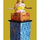 measuring tower, 2010 by Thelma Van Rensburg