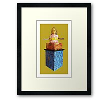 measuring tower, 2010 Framed Print