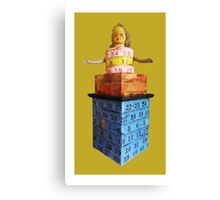 measuring tower, 2010 Canvas Print