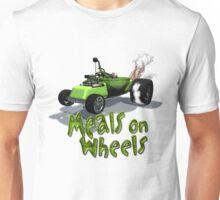 Wierd Wheels Meals on Wheels Unisex T-Shirt