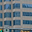 High Rise Reflection 2 - Downtown - Austin Texas Series - 2011 by Jack McCabe