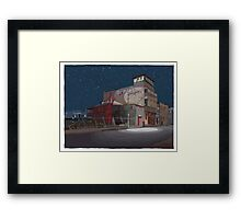 The Night Ripple Framed Print