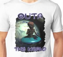 Wierd Wheels Outa This World Unisex T-Shirt