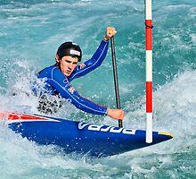 Canoe Slalom by Lea Valley Photographic