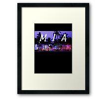 MIA - Ocean Drive Framed Print