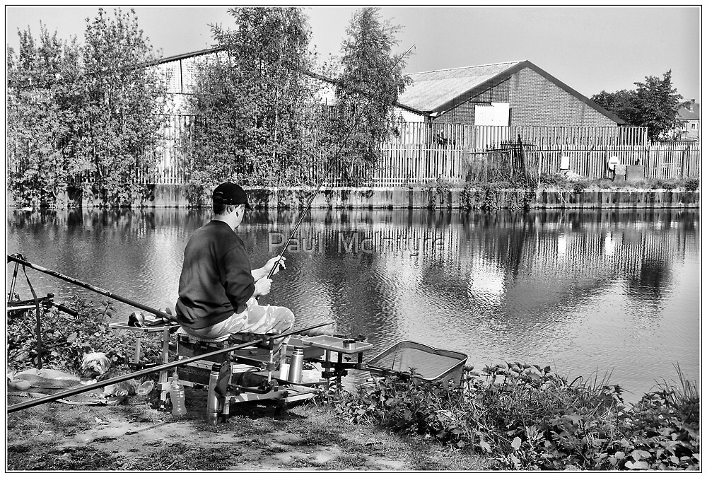 Candid Fishing by Paul  McIntyre
