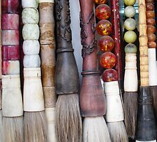 Calligraphy Brushes - Beijing, China by NancyLewis
