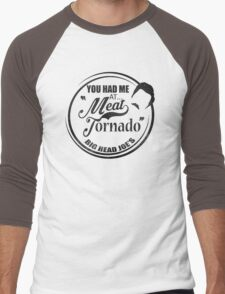 Ron swanson , Meat tornado Men's Baseball ¾ T-Shirt