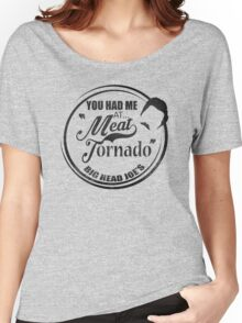 Ron swanson , Meat tornado Women's Relaxed Fit T-Shirt