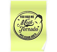 Ron swanson , Meat tornado Poster